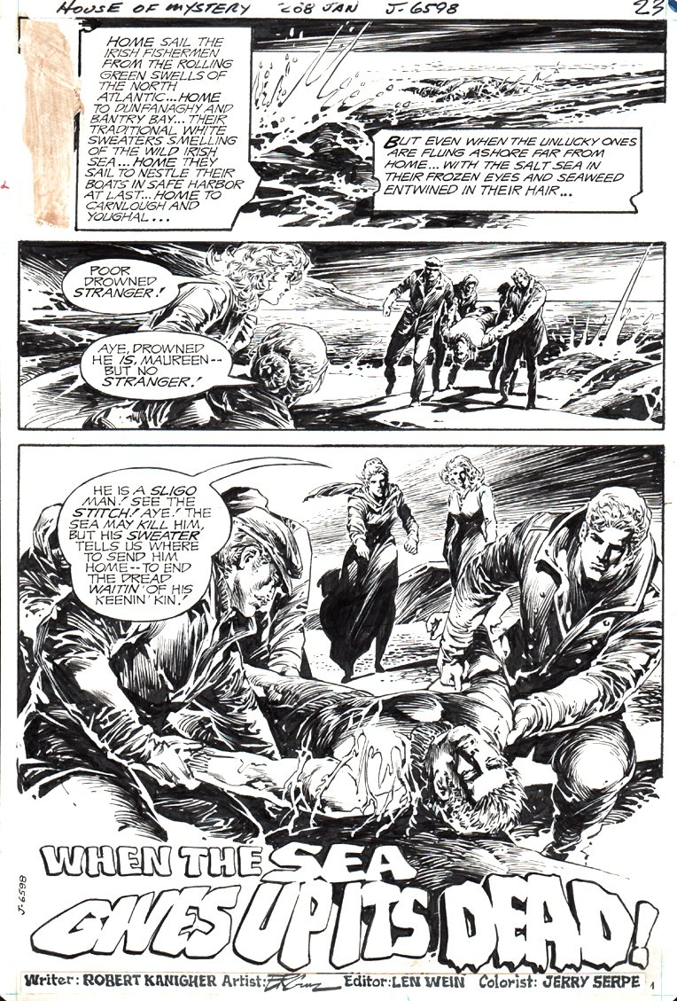 House of Mystery #268 p 1 SPLASH (1980)