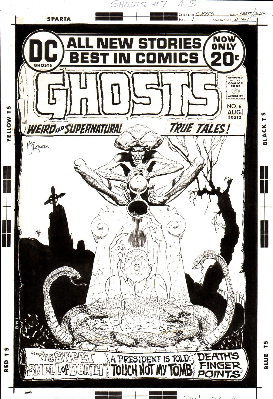 Ghosts #7 Cover (1972)