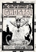 Ghosts #7 Cover (1972) Comic Art