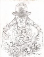 Rorschach Pinup  Page (2002) Comic Art