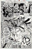 Web of Spider-Man #127 p 11 SPLASH (1995) Comic Art