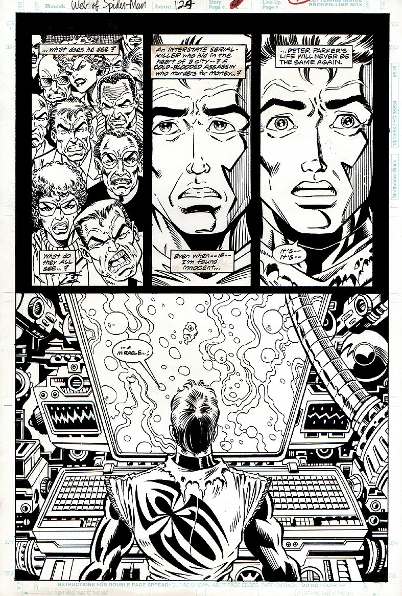 Web of Spider-Man #124 p 4 (1995)