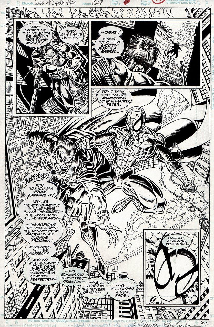 Web of Spider-Man #127 p 11 SPLASH (1995)