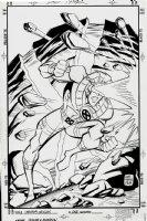 Uncanny Origins #1 Cover (1996) Comic Art