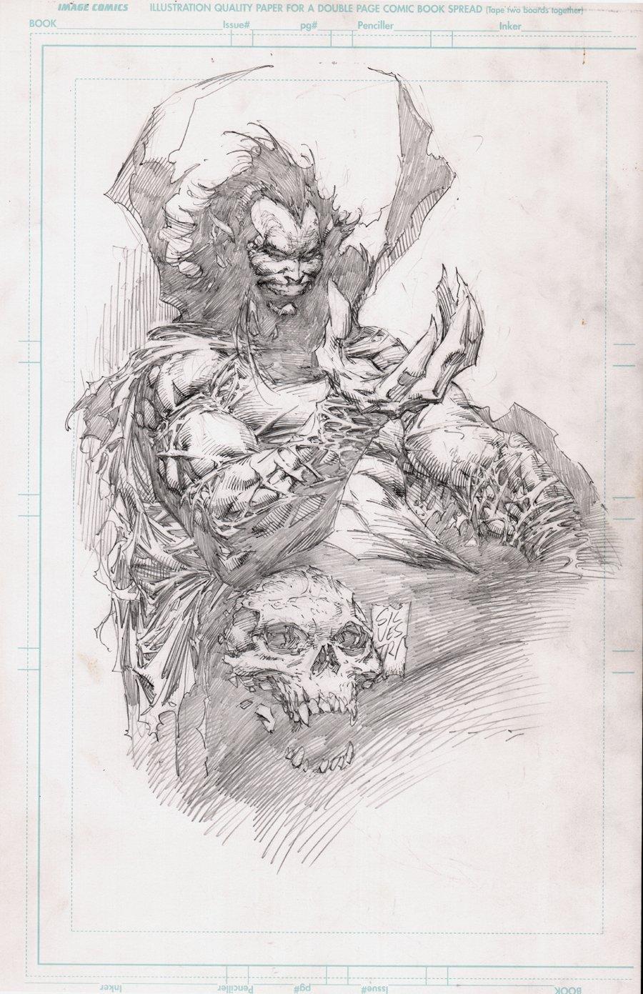 The Darkness #1 (Mephisto: Devil's Reign) Back Cover Art