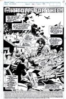 Wolverine #36 p 1 SPLASH (1990) Comic Art