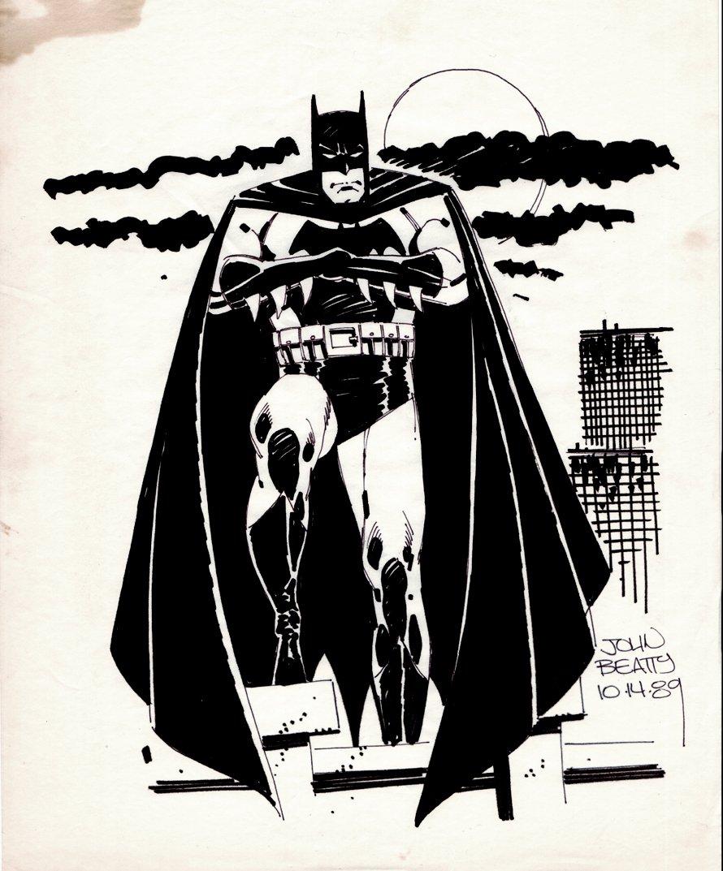 Batman Full Body Pinup (1989)
