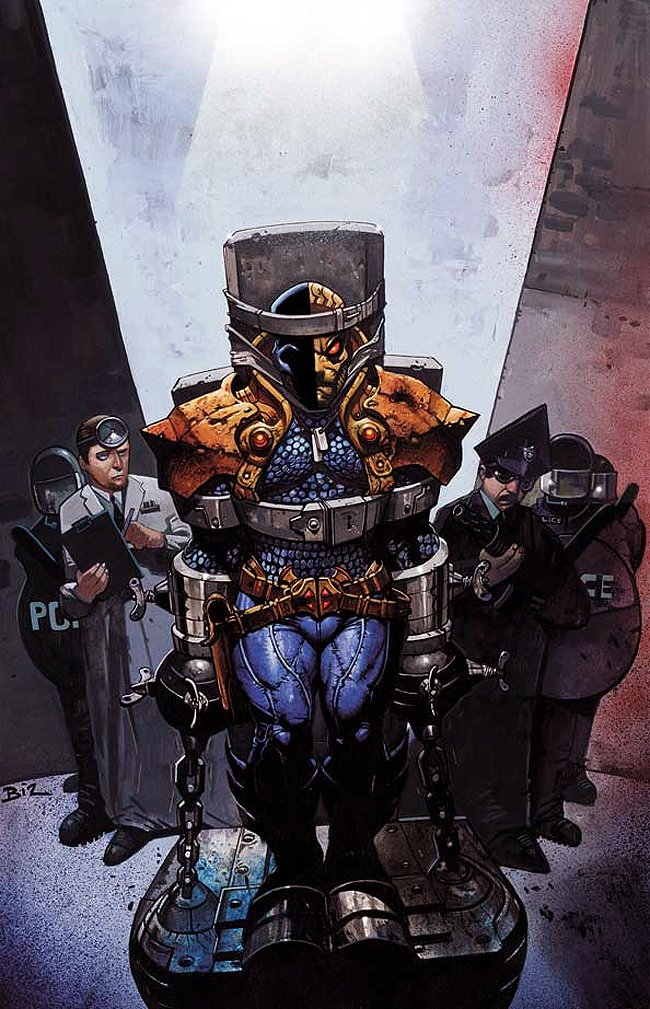 Deathstroke #4 Huge Cover Painting