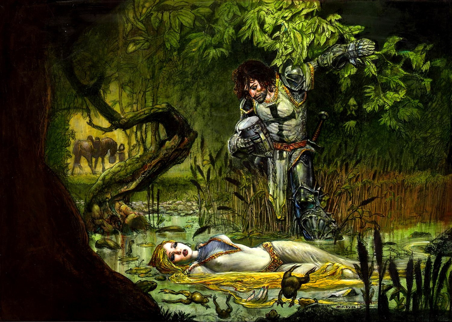 'Lady of the Lake' Published Pinup (Very Large) 2006
