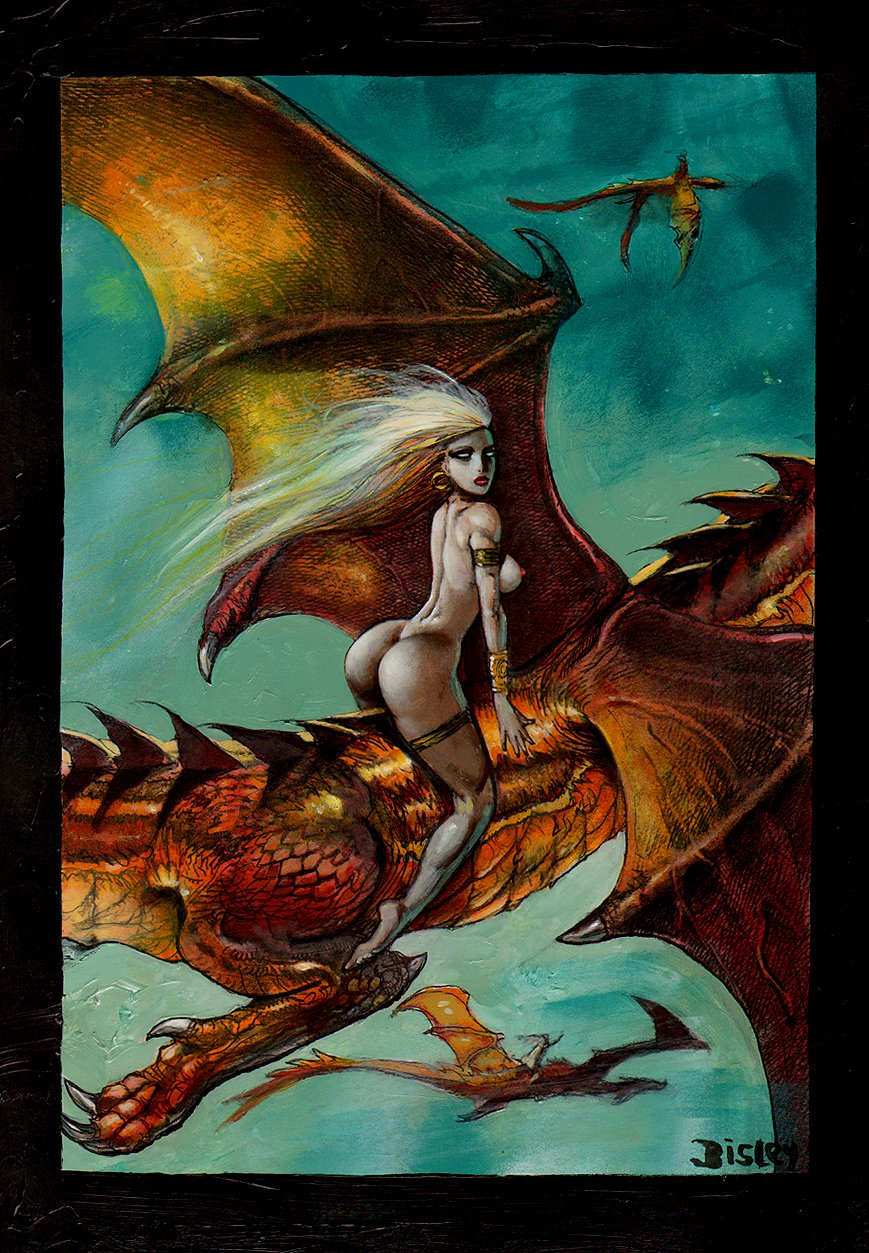 Game Of Thrones 'Mother Of Dragons' Painting