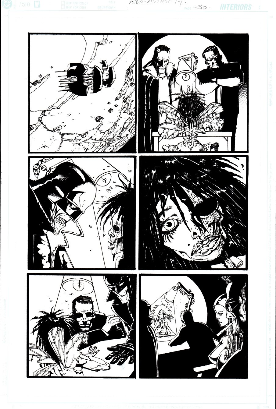 Authority / Lobo: Jingle Hell #1 p 30 (2003)