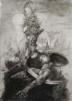 David Vs Goliath Bible Illustration (2000) Comic Art
