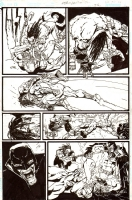 Authority / Lobo: Jingle Hell Issue 1 Page 35 Comic Art