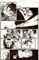 Authority / Lobo: Jingle Hell Issue 1 Page 39 Comic Art