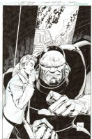 Action Comics Annual #13 Un-Used Cover (2010) Comic Art