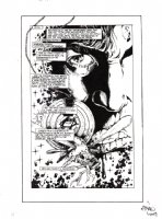 Cyberfrog Issue 1 Page A Splash (1993) Comic Art