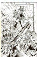New X-Men #133 p 1 SPLASH (2002)  Comic Art