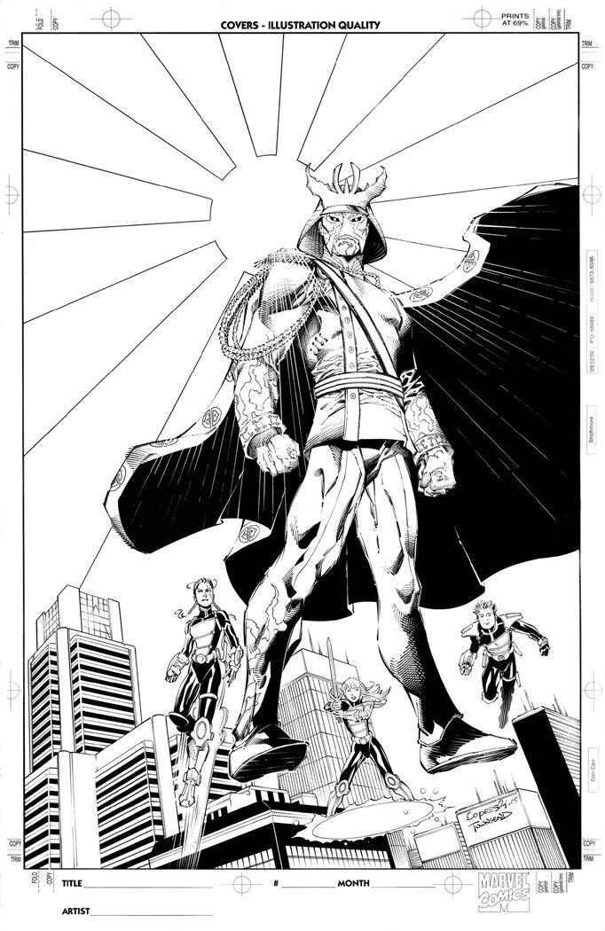 X-Men #18 Cover (2005)