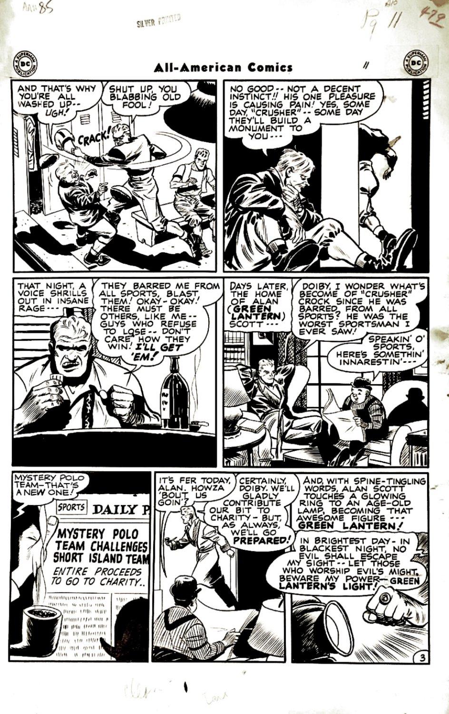 All-American Comics #85 p 3 (Large Art) 1947