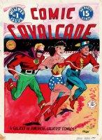 Comic Cavalcade #1 Large Cover Recreation (1997) Comic Art