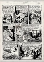 Tales from the Crypt #31 p 4 'OLD WITCH PAGE' (Large Art) 1952 Comic Art