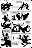 Daredevil #197 p 23 (VERY FIRST MIKE MIGNOLA COMIC BOOK ART!) 1983 Comic Art