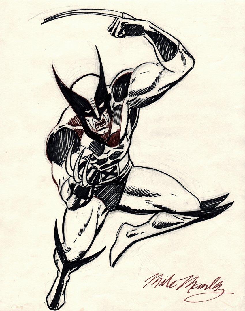 Wolverine Pinup (1980's)