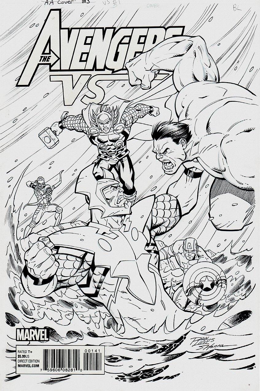 Avengers VS #3 Cover (2015)