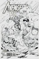 Avengers VS #3 Cover (2015)  Comic Art