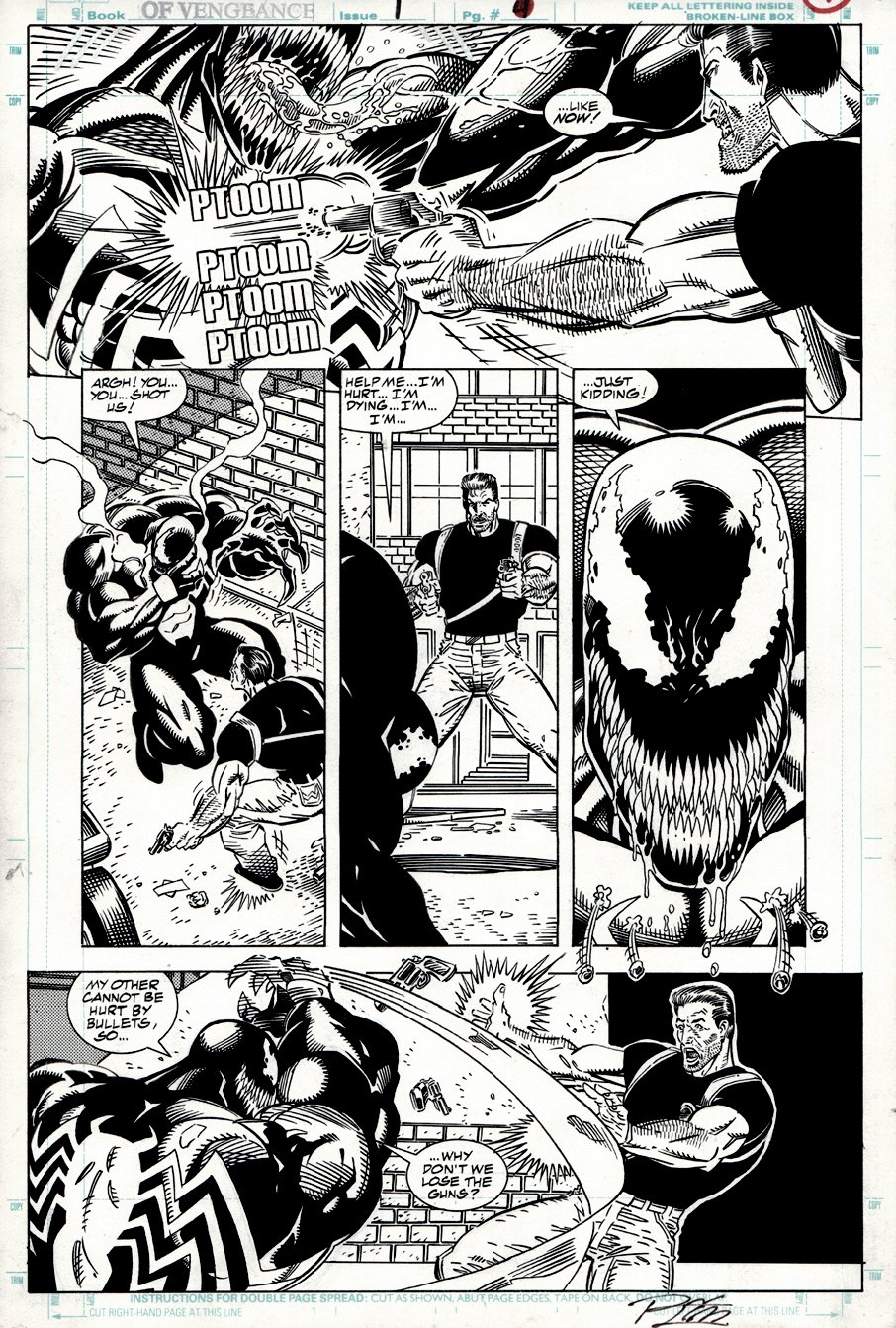 Venom: Nights of Vengeance #1 p 4 (1994)
