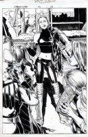 X-Treme X-Men #42 p 23 SPLASH Comic Art