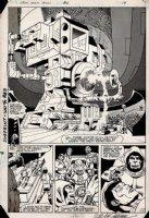 Iron Man Annual #6 p 12 SPLASH (1983) Comic Art