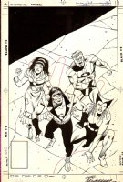 Justice League of America #258 Cover (1986) Comic Art