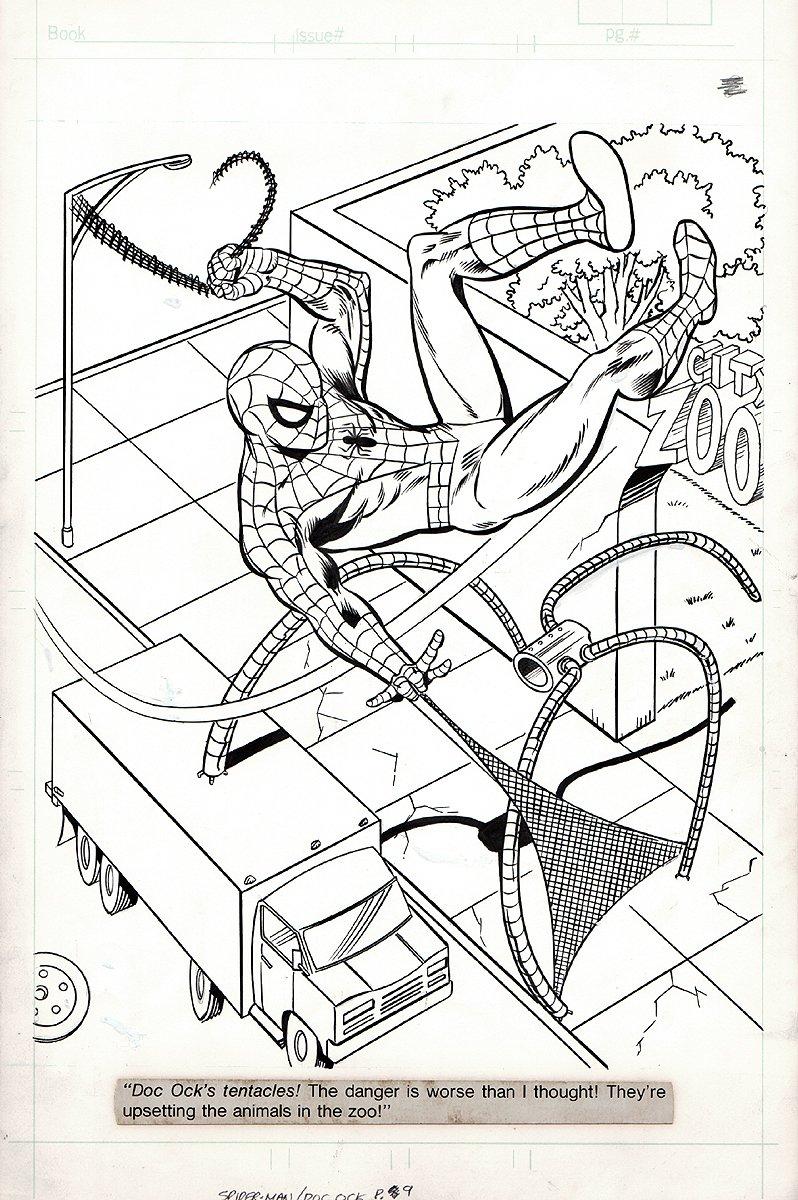 Spiderman/Dr. Octopus #1 p 9 (1980s)
