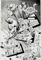 Prime #4 p 5 SPLASH (1993) Comic Art