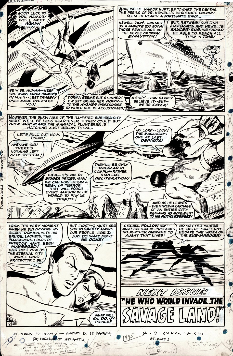 Tales to Astonish #95 p 12 (Large Art) 1967