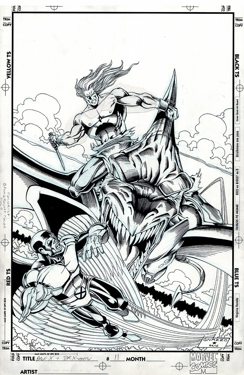 Professor Xavier and the X-Men #11 Cover (1996)