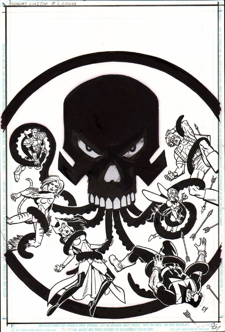 Avengers United They Stand #2 Cover (1999)