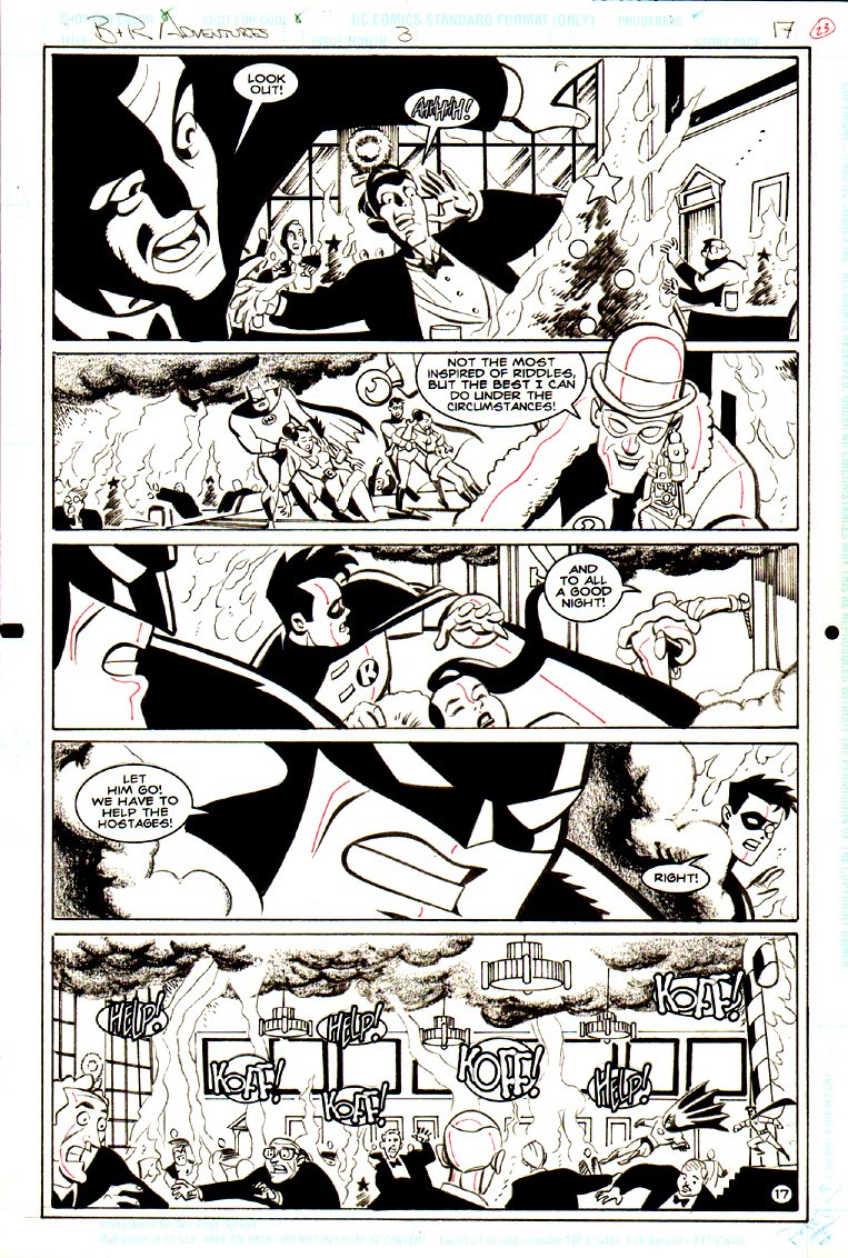 Batman & Robin Adventures #3 p 17