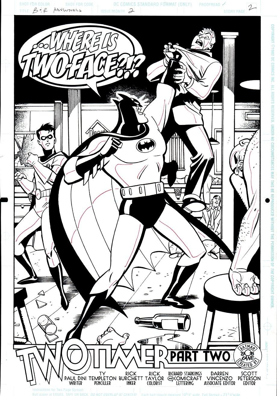 Batman & Robin Adventures #2 SPLASH (1995)