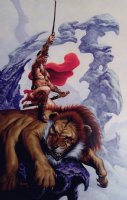 Warlord of Mars #10 Cover Painting (Large) 2011 Comic Art
