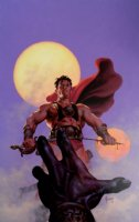 Warlord of Mars #12 Cover Painting (Large) 2012 Comic Art