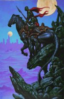 Warlord of Mars Cover Painting (2012) Comic Art