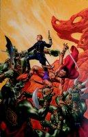 John Carter: Warriors Of Mars #2 Cover Painting (LARGE) Comic Art