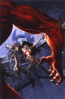 Vampirella / Witchblade: Union of the Damned #1 Very Large Cover Painting Comic Art