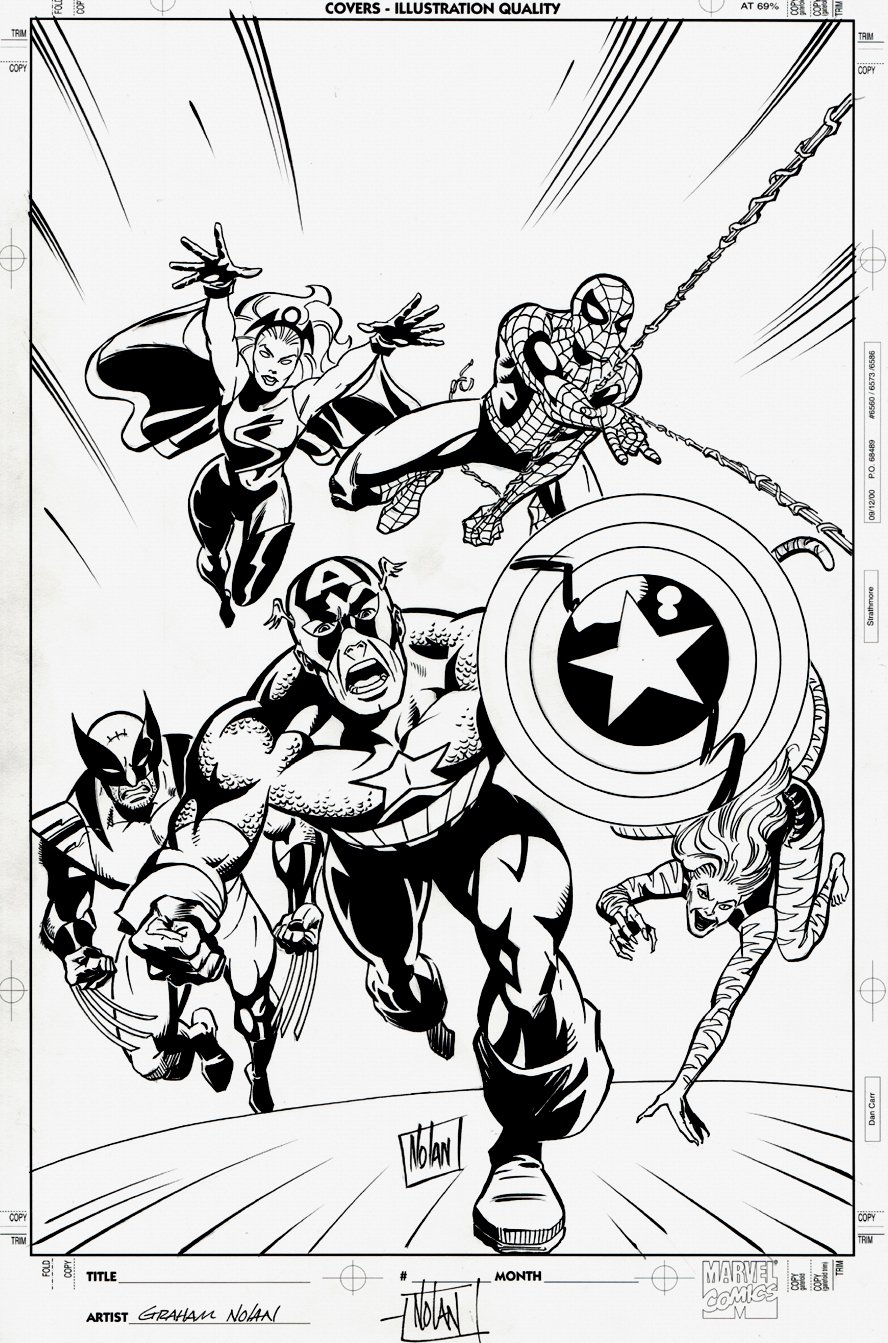 The Avengers #30 Cover (2008)