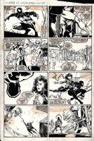 Web of Spider-Man #37 p 19 (1988) Comic Art