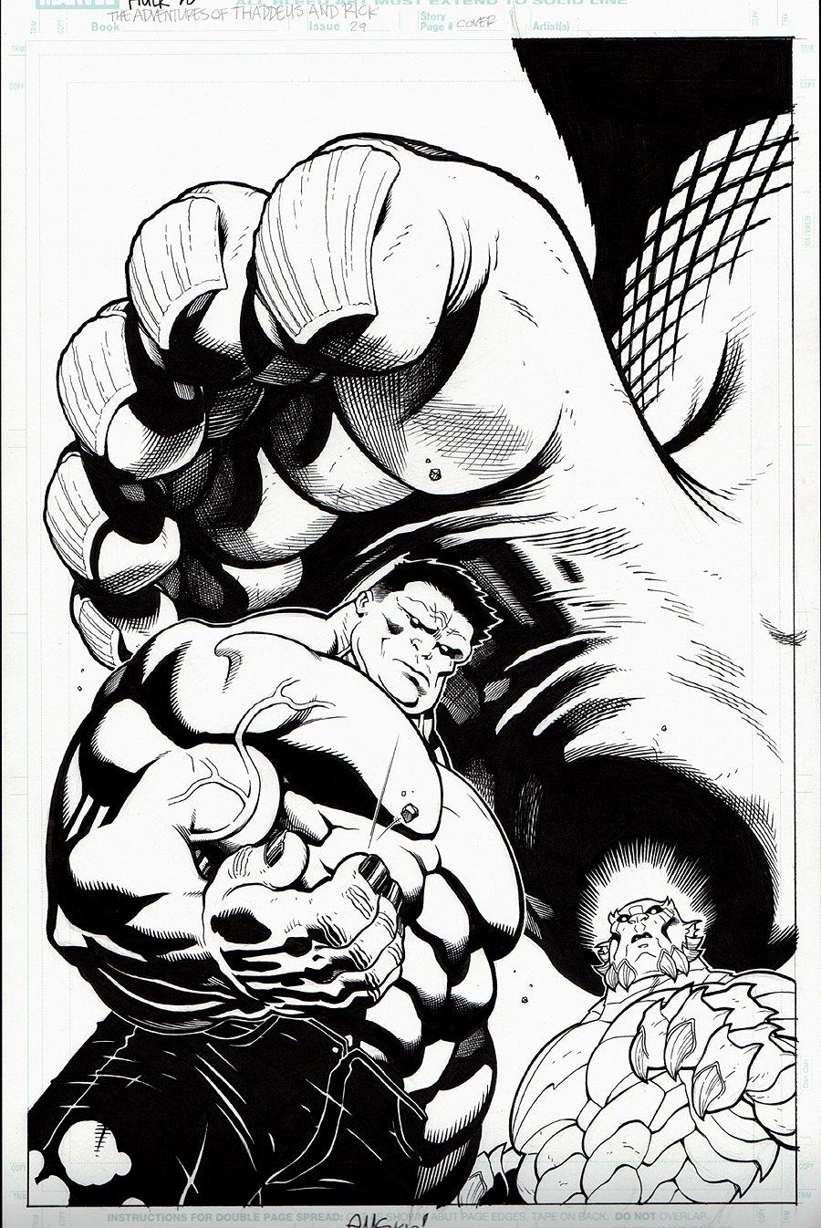 Hulk #28 Cover (2010)