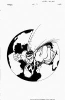 Mr. Majestic #1 Cover (1999) Comic Art