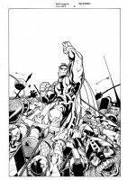Mr. Majestic #2 Cover (1999) Comic Art